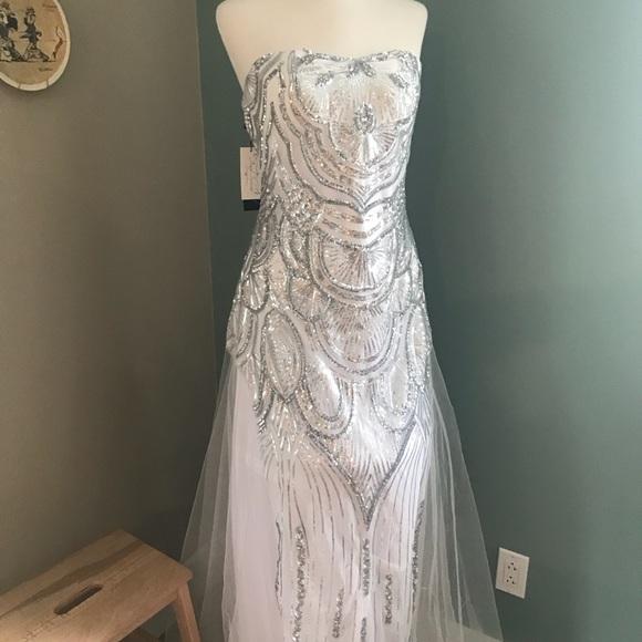 Dresses Art Deco Evening Gown Poshmark